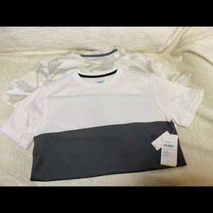 Boys Old Navy shirts dry fit active wear NEW